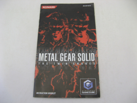 Metal Gear Solid - The Twin Snakes *Manual* (UKV)