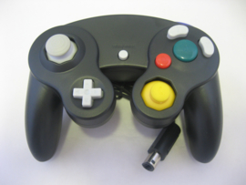 Wired Controller for Wii & GameCube - Black (New)