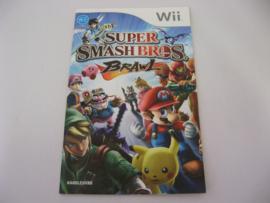 Super Smash Bros Brawl *Manual* (HOL)