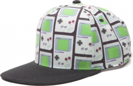 Cap: Nintendo - Gameboy Snapback with All Over Print (New)