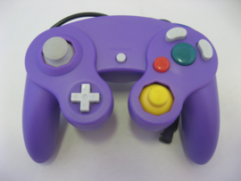 Wired Controller for Wii & GameCube - Purple (New)