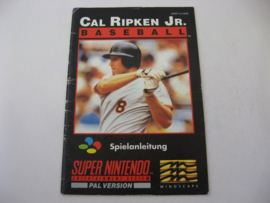 Cal Ripken Jr. Baseball *Manual* (NOE)