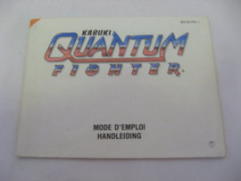 Kabuki Quantum Fighter *Manual* (FAH)