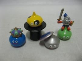 Dragon Quest Gashapon Figures - Set of 4