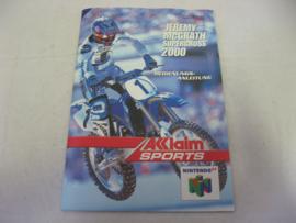 Jeremy McGrath Supercross 2000 *Manual* (NOE)