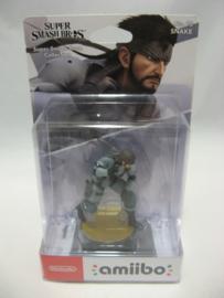 Amiibo Figure - Snake - Super Smash Bros (New)
