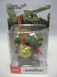 Amiibo Figure - King K. Rool - Super Smash Bros (New)