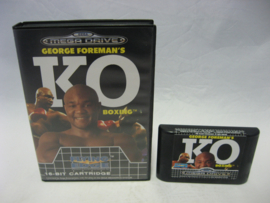 George Foreman's KO Boxing (CB)