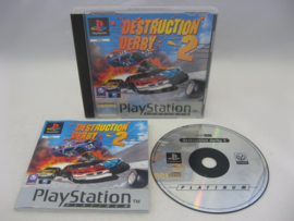 Destruction Derby 2 - Platinum - (PAL)