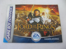Lord of the Rings: The Return of the King *Manual* (HOL)