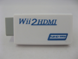 Wii 2 HDMI Adapter - Full HD 1080P (New)