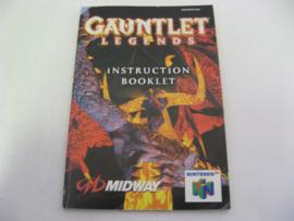 Gauntlet Legends *Manual* (EUU)