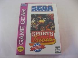 SEGA Sports Trivia Championship Edition (GG, Sealed, USA)