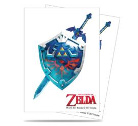 SLEEVES - Zelda Sword and Shield (65) (New)