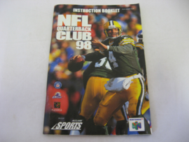 NFL Quarterback Club 98 *Manual* (EUR)