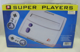 Super Nintendo Clone Console 'Super Players' (Boxed)