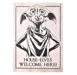 Harry Potter - Dobby Metal Sign (New)