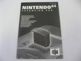 N64 Expansion Pak *Manual* (NEUR)