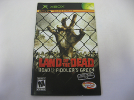 Land of the Dead - Road to Fiddler's Green *Manual* (XBX)