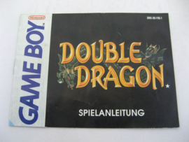 Double Dragon *Manual* (FRG)