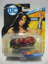 Hot Wheels Character Cars - DC Comics - Wonder Woman (New)