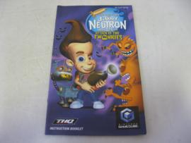 Adventures of Jimmy Neutron, Boy Genius - Attack of the Twonkies *Manual* (UKV)