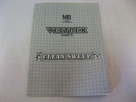 Clean Sweep *Manual* (Vectrex)