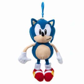 Sonic The Hedgehog - Plush Coin Purse with Clip (New)