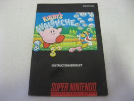 Kirby's Avalanche *Manual* (USA)