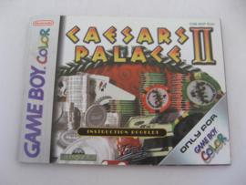 Caesars Palace II *Manual* (EUU)