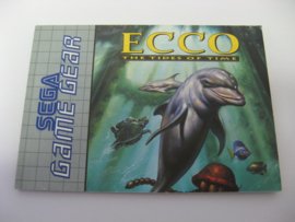 Ecco - The Tides of Time *Manual* (GG)