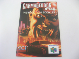 Carmageddon 64 *Manual* (EUR)