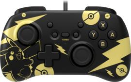 Nintendo Switch HoriPad Mini 'Pikachu Black & Gold' (New)