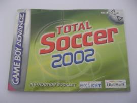Total Soccer 2002 *Manual* (EUR)