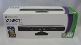 XBOX 360 Kinect Sensor / Camera + Kinect Adventures (Boxed, New)
