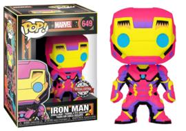 POP! Iron Man (Black Light) - Marvel - Special Edition (New)