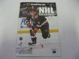 NHL Breakaway 98 *Manual* (EUR)