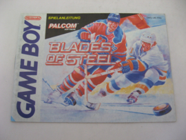 Blades of Steel *Manual* (FRG)