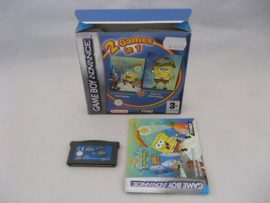 2 Games in 1: Spongebob Squarepants Supersponge + Battle for Bikini Bottom (HOL, CIB)