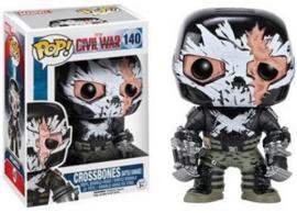 POP! Crossbones (Battle Damage) - Captain America Civil War (New)