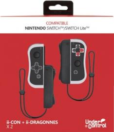 Nintendo Switch ii-Con Pair - Nintendo NES Style (New)