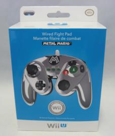Wired Fight Pad - Metal Mario - Wii / Wii U (New)