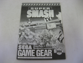 Super Smash TV *Manual* (GG)