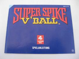 Super Spike V'Ball *Manual* (FRG)