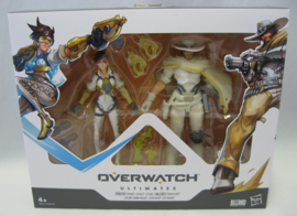 """Overwatch Ultimates Series - Tracer / McCree 6"""" Action Figure Double Pack (New)"""