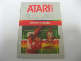 RealSports Tennis *Manual*