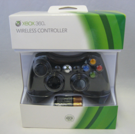 XBOX 360 Wireless Controller 'Black' (New)