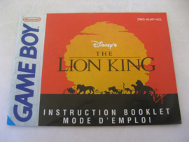 Disney's Lion King *Manual* (HOL)