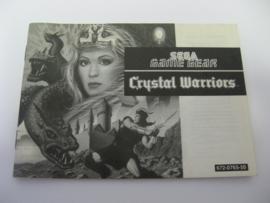 Crystal Warriors *Manual* (GG)