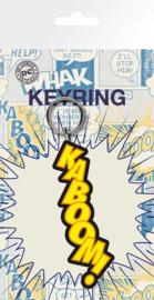 DC Comics Kaboom! Keychain (New)